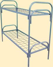 Металлические кровати для пансионатов,  кровати для общежитий,  бытовок